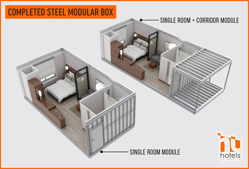 Hotels University Using Steel Modules For Your Mid To High Rise Structures